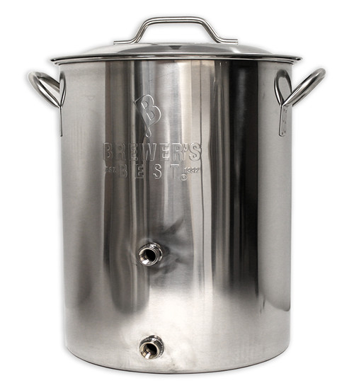 Brewer's Best 16 Gallon Basic Brew Kettle with Two Ports
