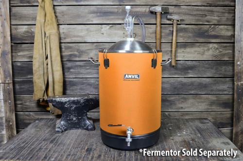 Anvil Brewing Cooling System mounted on 7.5 Gallon Bucket Fermenter