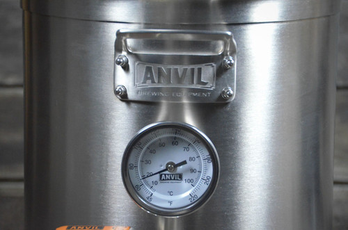 Anvil Brewing 5.5 Gallon Brew Kettle Front View