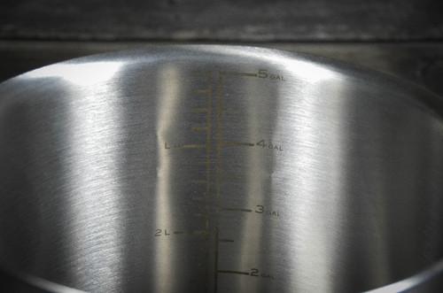 Anvil Brewing 7.5 Gallon Internal etched level graduations