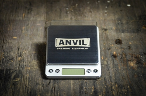 Anvil High Precision Digital Scale top view