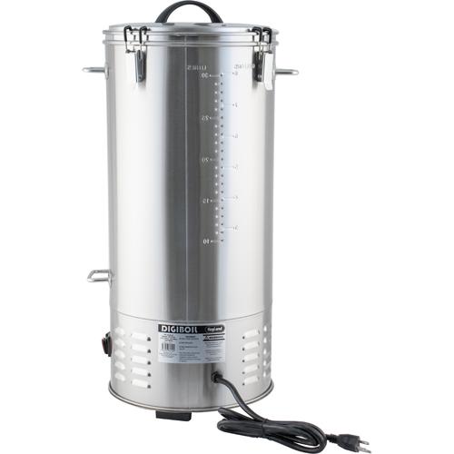 DigiBoil Electric Kettle - 35L/9.25G (110V) Back View