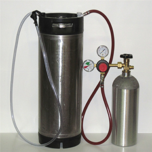 Homebrew Kegging System W/Used Ball Lock Keg