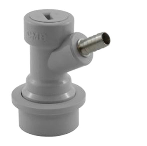 "Ball Lock Gas Disconnect - 1/4"" Barb"