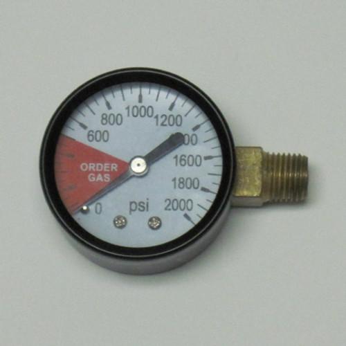 High Pressure Replacement Gauge RH