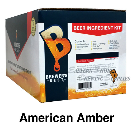 Brewer's Best American Amber Recipe Kit
