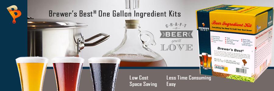1 Gallon Beer Kits