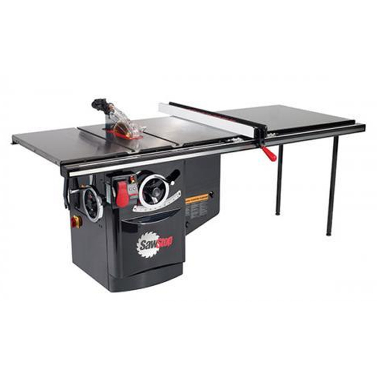 """SawStop Industrial Cabinet 10"""" Saw - 3Hp, 1Ph, 230V, 60Hz W/ 52"""" T-Glide"""