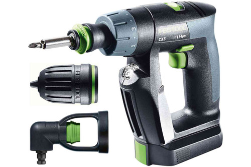 Cordless drill  CXS 2,6-Set W/ Right Angle Chuck