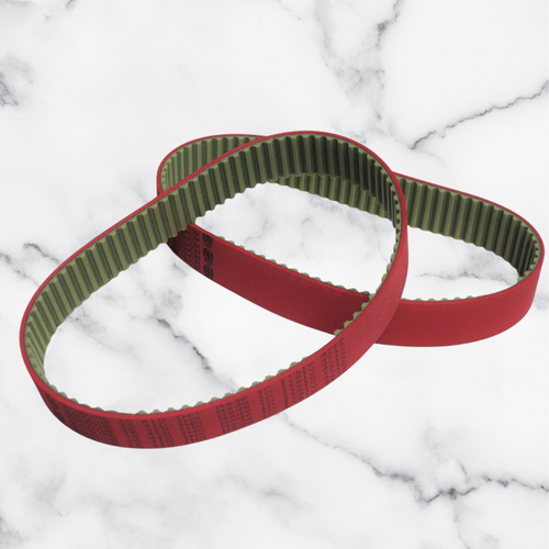 Holz-Her Red Belt -Toothed belt for tape feed