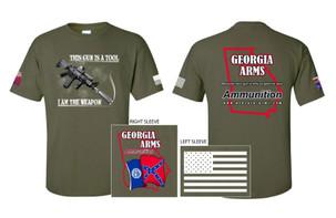 OD Green Georgia Arms T-Shirts_Billboard