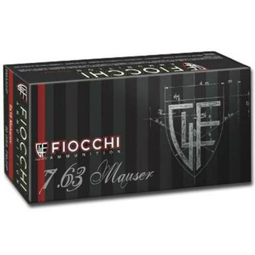 Fiocchi 7.63 MAUSER 88GR FMJ 50pk-1