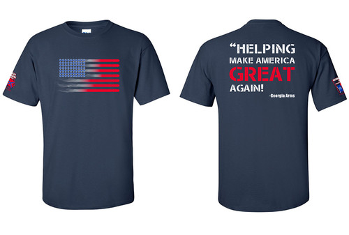Georgia Arms T-Shirts_ Flag