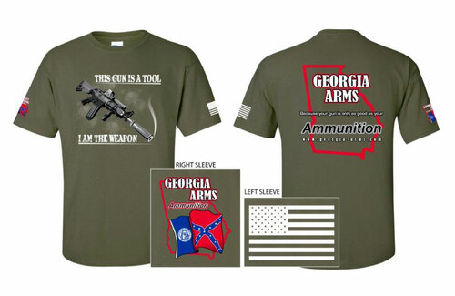 OD Green Georgia Arms T-Shirts_Billboard