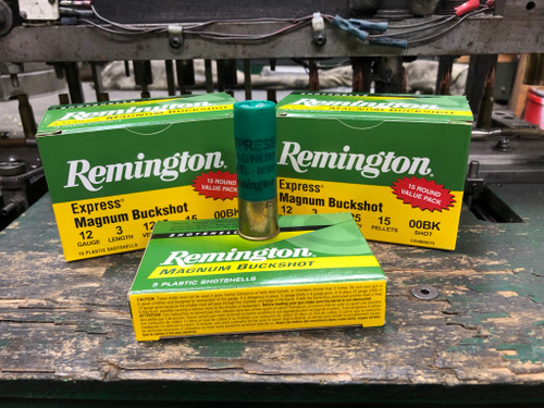 Remington 12ga Magnum Buckshot (15/rds)