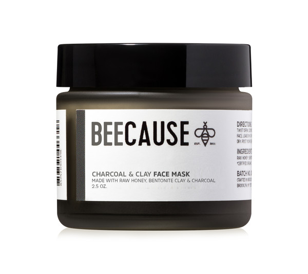 Activated Charcoal & Clay Face Mask