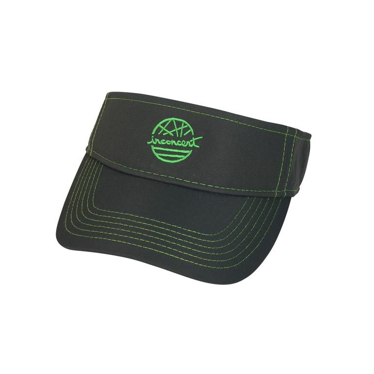 Inconcert Lime Green/Grey Performance Visor