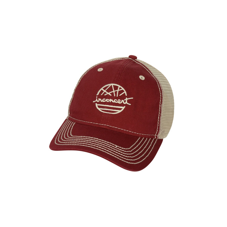 Inconcert Heavy Washed Mesh Cap