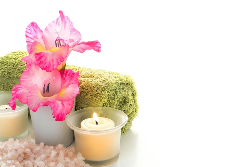 88820 md1 little treasures with body lotion, candles, scented soap & chocolates