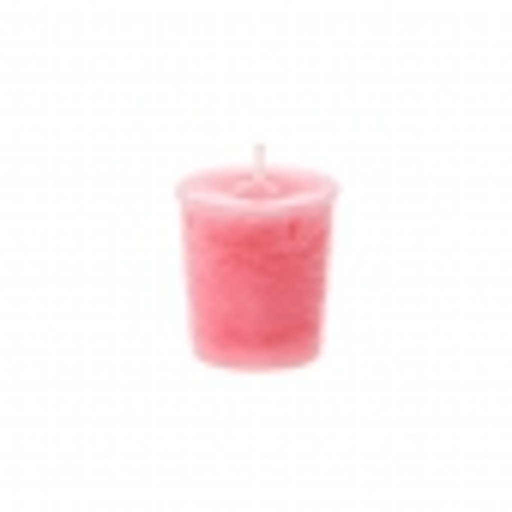 Strawberry & Vanilla Scented Candle