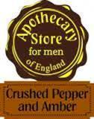 818ap  Apothecary Crushed Pepper & Amber boxed gift set