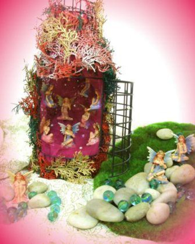 OUT OF STOCK 1216 The Pink Fairy Glen - No Discounts apply