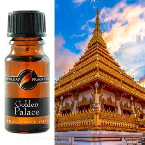 Golden Palace Fragrance Oil 12ml - Smokey Amber & Musk