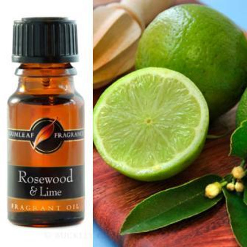 Rosewood & Lime Fragrance Oil 12ml