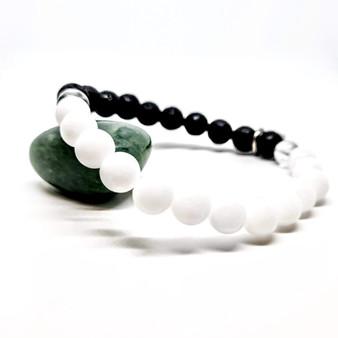 White Jade Aromatherapy Bracelet