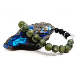 Green Jade Aromatherapy Bracelet