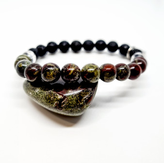 Dragons Blood Jasper Aromatherapy Bracelet