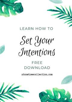 Learn how to set your intentions