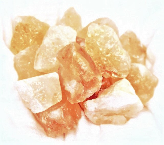What is Himalayan Salt?  It is known as a all round healing mineral with many healthy and helpful benefits to fuel our bodies natural salt levels. It draws moisture & pollutants from the air and then releases negative ions in the air to neutralize the positive electromagnetic vibes in our home.  When the salt heats up, it then evaporates the excess moisture gathered, trapping pollutants inside. The warmer the salt rock becomes, the more negative ions are released into the air to bond and neutralize the positive ions that are emitted by common household appliances, like our phones, computers.  Each salt chunk may slightly vary in colour and shape, natural minerals are delicate and must not be roughly handled.