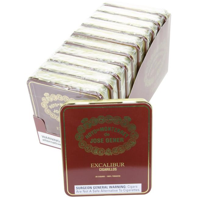 Hoyo De Monterrey Excalibur Cigarillo Tins
