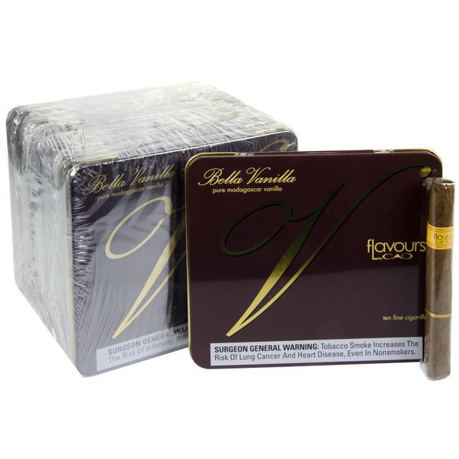 CAO Flavours Bella Vanilla Cigarillos Tins