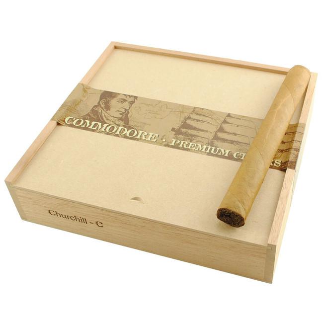 Commodore Cigars Churchill Connecticut