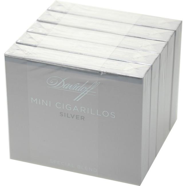 Davidoff Cigarillos Mini Cigarillos Silver