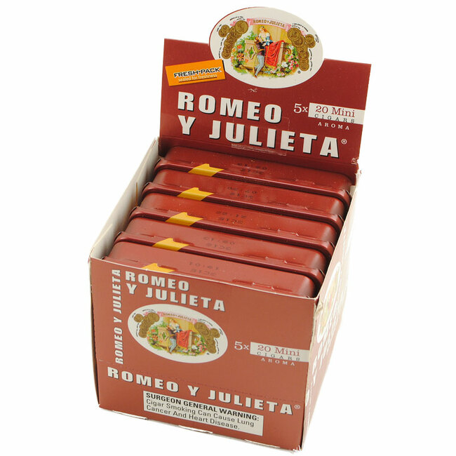 Romeo Y Julieta 1875 Mini Red Aroma Tins