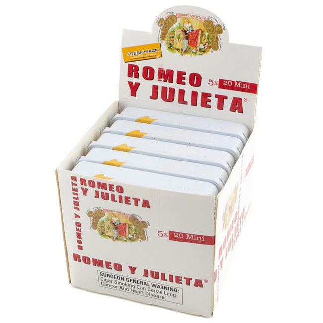 Romeo Y Julieta 1875 Mini White Original Tins