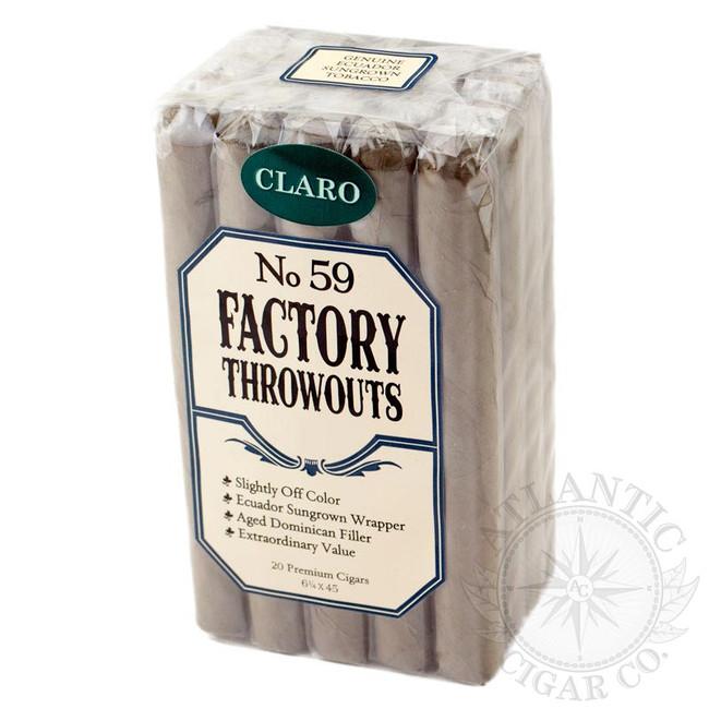 Factory Throwouts No. 59 Bundles Claro