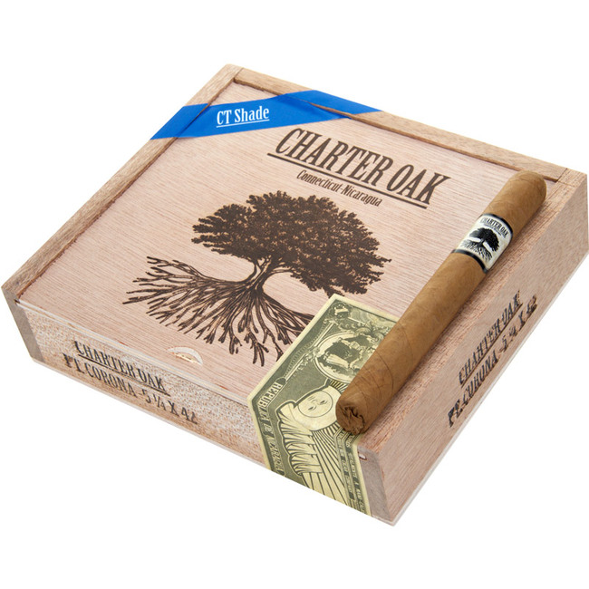 Charter Oak Shade Petite Corona (5-1/4x42)