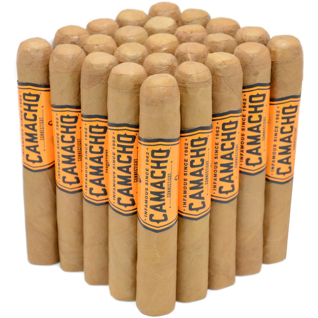 Camacho Connecticut Robusto 25-Pack