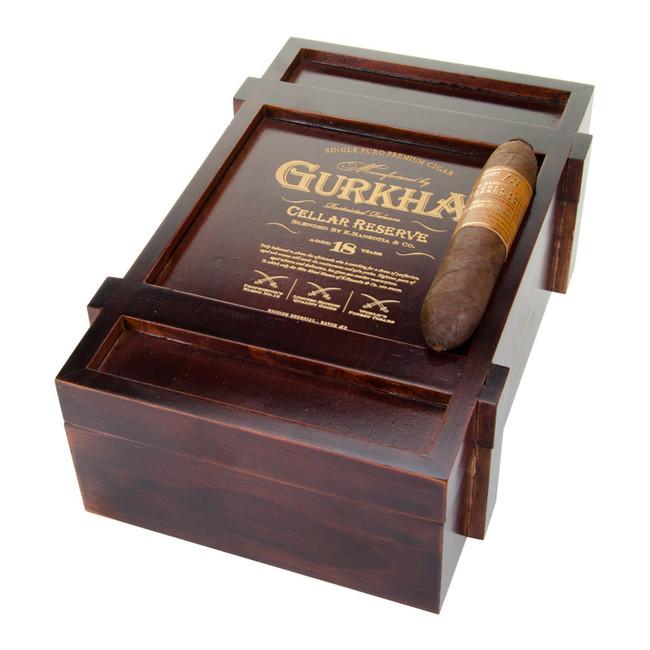 Gurkha Cellar Reserve 18 Year Edicion Especial Solara Double Robusto