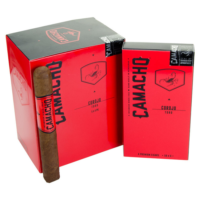 Camacho Corojo Natural Toro Packs
