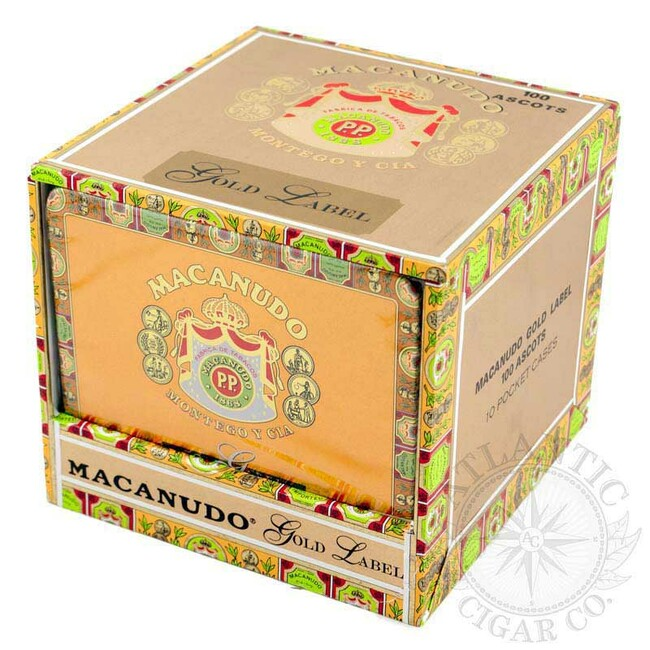 Macanudo Gold Label Ascots Tin