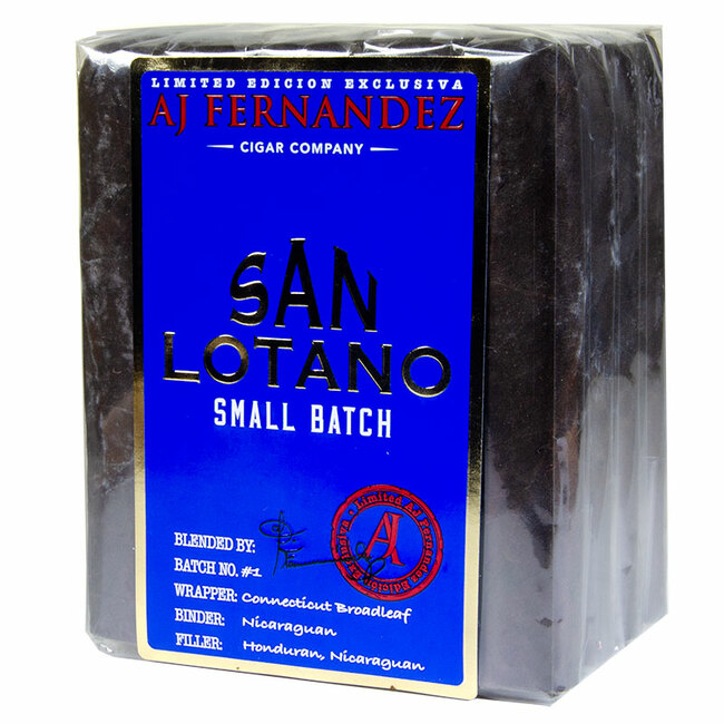 San Lotano Small Batch Maduro Robusto