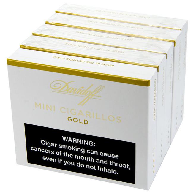 Davidoff Cigarillos Mini Cigarillos Gold