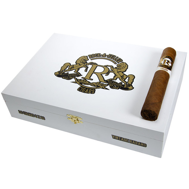 Rock-A-Feller Habano White XO Toro Gordo (6x60)