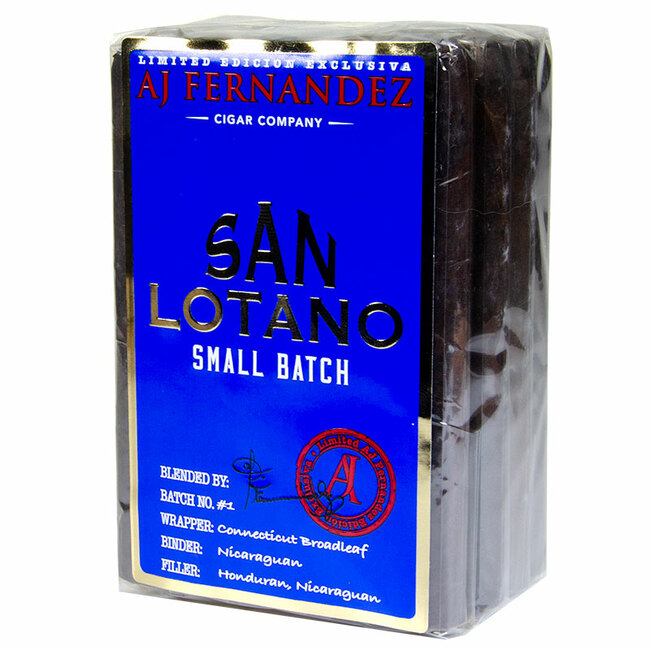 San Lotano Small Batch Maduro Corona