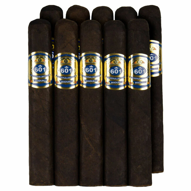 601 Blue Label Robusto Maduro 10-Pack